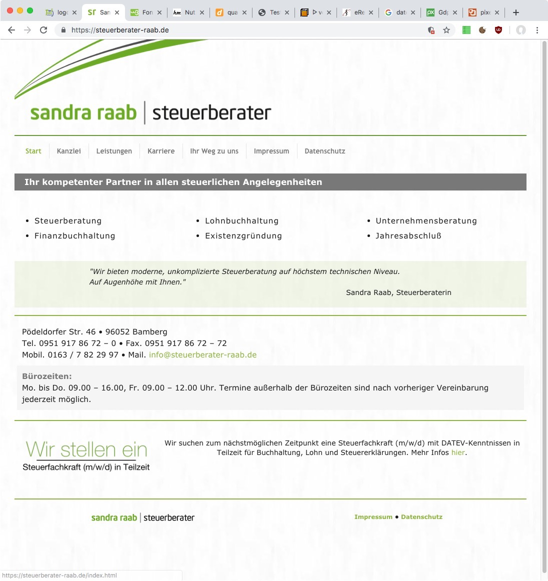 Referenz Steuerberater Raab